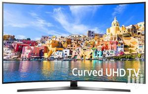 Samsung 55 Inch Curved 4K UHD Smart LED TV - 55KU7500