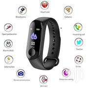 M3 Fitness High Quality Tracker Heart Rate Watch - Black | Smart Watches & Trackers for sale in Nairobi, Karen