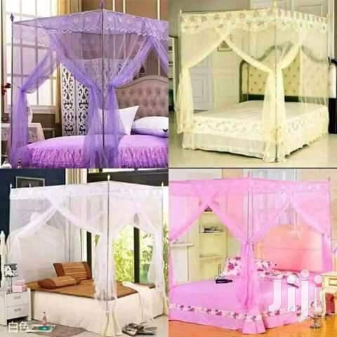 Four Stand Mosquito Net All Sizes And Colours