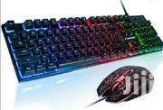 Gaming Keyboard and Mouse Combo, Rainbow Backlit | Musical Instruments for sale in Nairobi, Nairobi Central