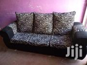 3 Seater White and Black | Furniture for sale in Nairobi, Mwiki