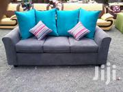 Simple Quality Flared Arm 3 Seater Sofa | Furniture for sale in Nairobi, Ngara