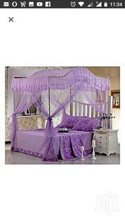 4 Stand Arched Mosquito Net With Strong Metallic Stands- 5*6 -Purple | Home Accessories for sale in Nairobi, Nairobi Central