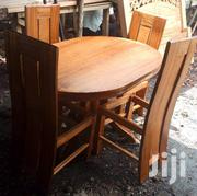 4seater Oval Dining Table | Furniture for sale in Nairobi, Ngando