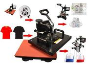 8 In 1 Digital Heat Press Machine Sublimation T-shirt/Mug/Plate Hat | Printing Equipment for sale in Nairobi, Nairobi Central