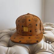 MCM Leather Snapback. Brown With MCM Print   Clothing Accessories for sale in Mombasa, Mkomani