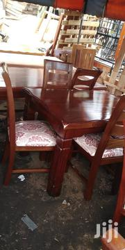 4seater Dinning Table Made of Mahogany Wood   Furniture for sale in Nairobi, Embakasi