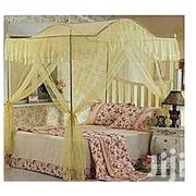 4 Stand Arched Mosquito Net With Strong Metallic Stands 6*6 Cream | Home Accessories for sale in Nairobi, Nairobi Central