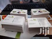 Double Sided Cards Printed Both Sides And Laminated | Other Services for sale in Nairobi, Nairobi Central