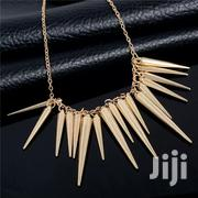 SHUANGR Gold Silver-Color Chain Spike Maxi Necklaces Pendants | Jewelry for sale in Nairobi, Nairobi Central
