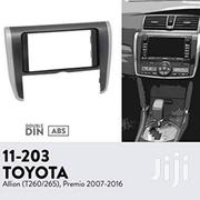 Toyota Premio 260G Radio Console/Fascia/Frame Enables You To Fit Radio | Vehicle Parts & Accessories for sale in Nairobi, Nairobi Central