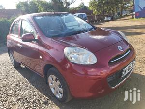 Nissan March 2012 Red
