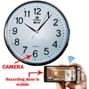 Wifi Wall Clock Camera | Home Accessories for sale in Nairobi, Nairobi Central