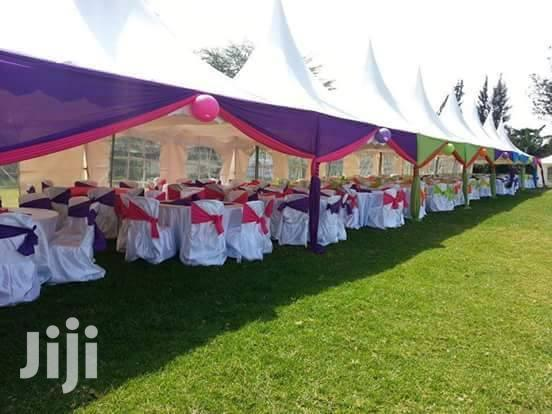 Hi We Hire Clean Tents,Chair,Tables And Decor