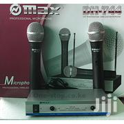Omax Dh744 Wirelss Microphone | Audio & Music Equipment for sale in Nairobi, Kasarani