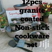 12pcs Granite Coated Non-Stick Cookware Set | Kitchen & Dining for sale in Nairobi, Nairobi Central