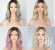 Lace Front Semi Human Colorful And Good Quality Heat Resistant Wigs | Hair Beauty for sale in Nairobi, Roysambu