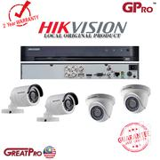 Hikvision 4 Hikvision CCTV Cameras Complete System Package Set Up Sale | Security & Surveillance for sale in Nairobi, Nairobi Central