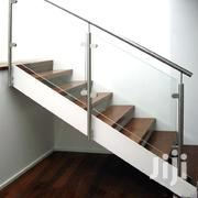 Stainless Steel Staircase With Tempered Toughehed Glass | Building Materials for sale in Mombasa, Shimanzi/Ganjoni