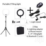 Tolifo 9″ Ring Light With Light Stand + Lighting Adapter + Dual Lapel | Accessories & Supplies for Electronics for sale in Nairobi, Nairobi Central