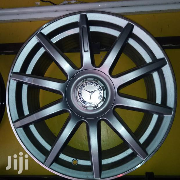 Grey Mercedes Benz Alloy Rims In 17 Inch