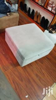 Bed Side Stool With Storage And Bed Side Bench Both Grey | Furniture for sale in Nairobi, Kasarani