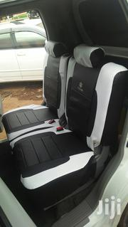 Black /White Leather Car Seat Covers   Vehicle Parts & Accessories for sale in Mombasa, Timbwani