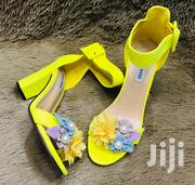 Flowerd Chunky Heels | Shoes for sale in Nairobi, Eastleigh North