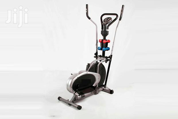 Gym Cross Trainers Exercise Bikes