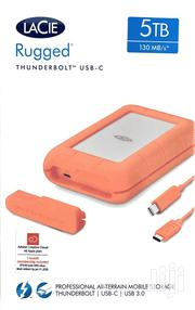 Lacie Rugged Thunderbolt USB-C 5TB External Hard Drive Portable HDD | Computer Hardware for sale in Nairobi, Parklands/Highridge