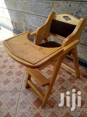 Wooden Baby Seat