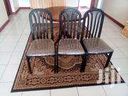 3 Chair Round Dining Table | Furniture for sale in Mombasa, Likoni