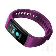 Y5 Heart Rate Water Proof Smart Bracelet Watch - Purple | Smart Watches & Trackers for sale in Nairobi, Nairobi Central