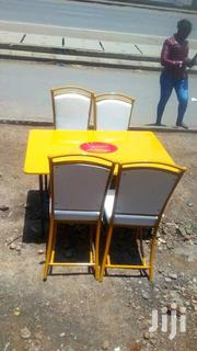 Cafe and Hotel Chairs Set at 14000 | Furniture for sale in Nairobi, Umoja II