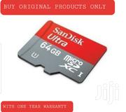 64gb Memory Card With One Year Warranty   Accessories for Mobile Phones & Tablets for sale in Nairobi, Nairobi Central