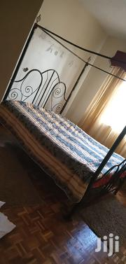 5*6 Bed With Spring High Density Mattress | Furniture for sale in Nairobi, Kileleshwa