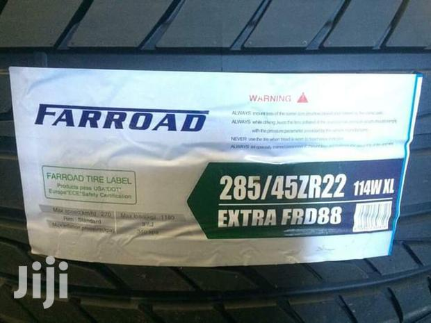 285/45/22 Farroad Tyres Is Made In China
