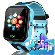 Kids Gps Smart Watch Simcard Camera Light Games Track Call Text Blue | Smart Watches & Trackers for sale in Nairobi, Nairobi Central