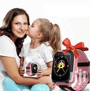 Kids Smartwatch With SIM Card Call Text Chat Sos Camera Gps Pink | Smart Watches & Trackers for sale in Nairobi, Nairobi Central
