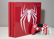 Sony Playstation Ps4 Pro 1TB Limited Edition Spider-man Red | Video Game Consoles for sale in Nakuru, Kapkures (Nakuru)