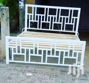 Whity Iron Bed | Furniture for sale in Mombasa, Bamburi