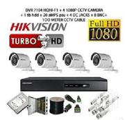 Hikvision CCTV Security Cameras - 4 Channel Kit- 1080p With 1 TB HDD   Security & Surveillance for sale in Nairobi, Nairobi Central