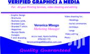 Verified Designs And Printing   Other Services for sale in Nairobi, Nairobi Central