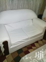 Sofa White Leather | Furniture for sale in Nairobi, Mwiki