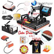 8 In 1 Heat Press Machine For T Shirts Machine | Printing Equipment for sale in Nairobi, Nairobi Central