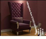 Wing Chair One Seater | Furniture for sale in Mombasa, Mkomani