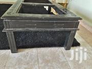 Black Hardwood Mahogany Table.Abit Dusty Due To Storage And Non Use. | Furniture for sale in Nairobi, Kilimani
