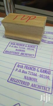 Wooden Stamp | Other Services for sale in Nairobi, Nairobi Central