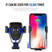 Qi Fast Wireless Car Charger Magnetic Holder | Accessories for Mobile Phones & Tablets for sale in Nairobi, Nairobi Central