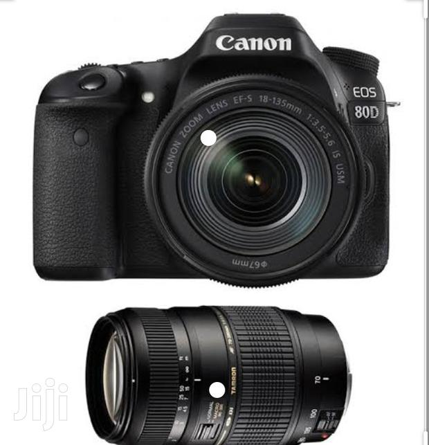 Canon 80D 18-135mm Camera